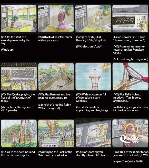 Quake-storyboard